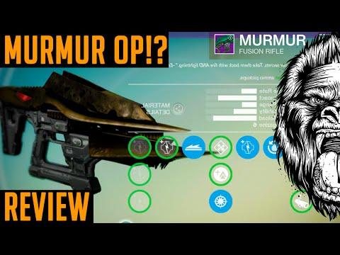 Destiny new murmur weapon op how to get quot murmur quot destiny gameplay