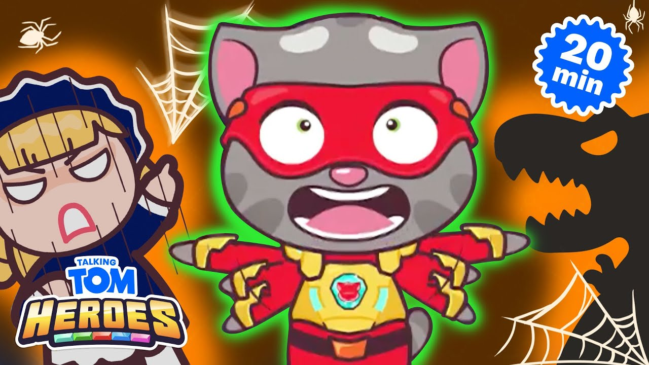 🎃🦸 Halloween Missions 🦸🎃 Talking Tom Heroes Compilation