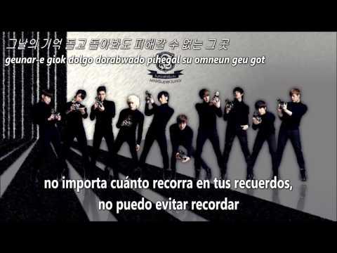 Andante - Super Junior SUB ESPAÑOL+HAN+ROM