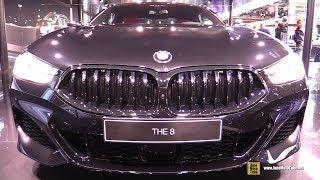 2019 BMW 8-Series 840d xDrive - Exterior and Interior Walkaround - Debut at 2018 Paris Motor Show