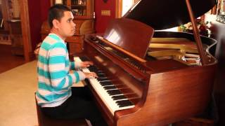 BULLET AND A TARGET - Citizen Cope Piano Cover Played By Blind Piano Prodigy KUHA