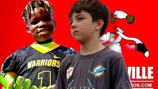 Footballville/next level flag youth football league highlights