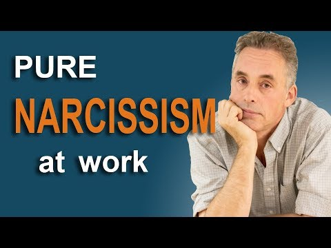 Jordan Peterson - Pure Narcissism at Work