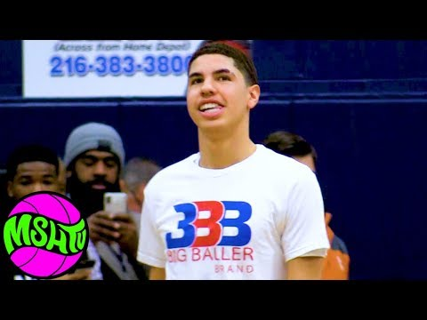 LaMelo Ball FULL GAME - Spire vs Garfield Heights - Lavar and Gelo in audience