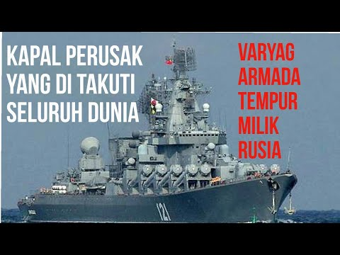 Visit the Russian Pacific Fleet ship arrived at, Indonesia