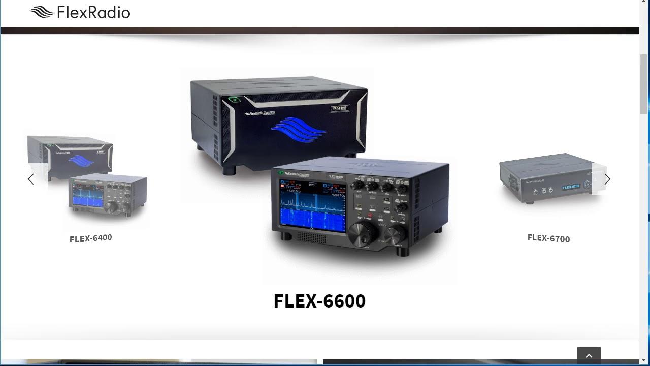 Works with Flex Radio
