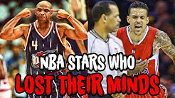 10 NBA Stars who LOST THEIR MINDS after being Ejected!