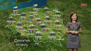 Prognoza pogody 13.09.2018
