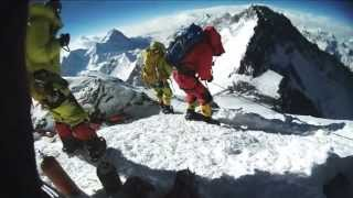 mt. everest herbert hellmuth summit day 2013 lhotse face dead avalanche khumbu icefall Hillary Step