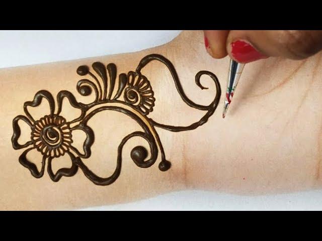 ?????? ????? ???? ????? ?? - Easy Full Hand Arabic Shaded Mehndi Design || Mehandi Design 2019