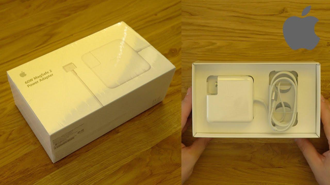 """MacBook Pro Retina 13"""" (2015) 60W Netzteil Unboxing (Deutsch)"""