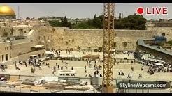 Live Webcam from the Western Wall in Jerusalem