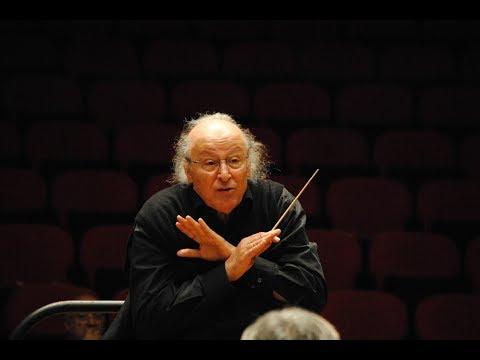 Brahms: Symphony no. 1 - Eliahu Inbal - Sinfónica de Galicia