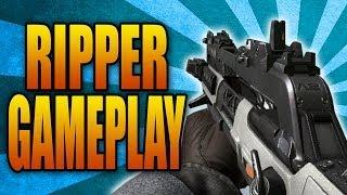 Call of Duty: Ghosts - RIPPER GAMEPLAY! New SMG & Assault Rifle Hybrid Gun (Devastation DLC Weapon)