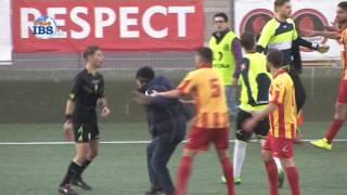 Mazara calcio vs Riviera Marmi gli ultimi minuti di rissa per il rigore assegnato e poi tolto