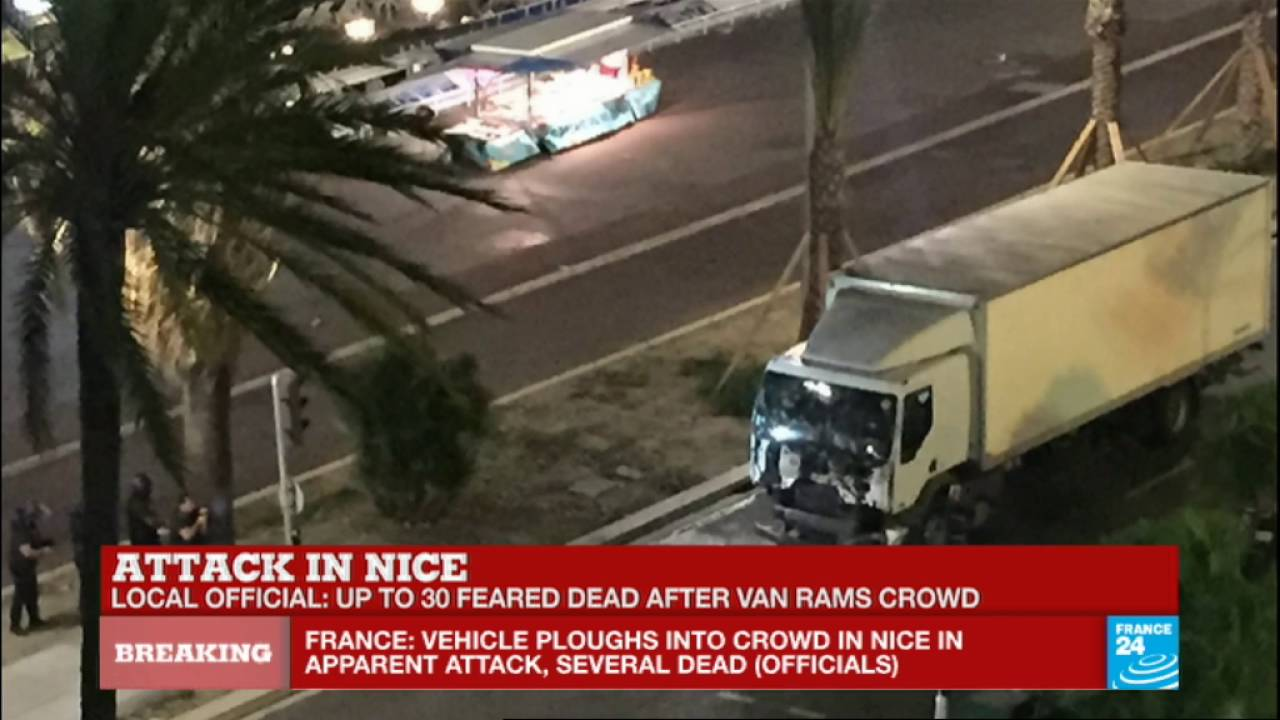 Nice Attack truck driver got out of his vehicule and