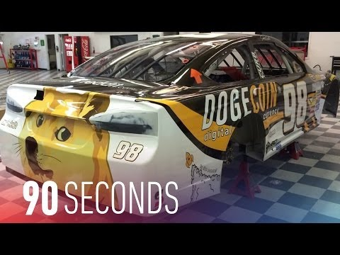 dogecoin-meets-nascar-at-talladega:-90-seconds-on-the-verge