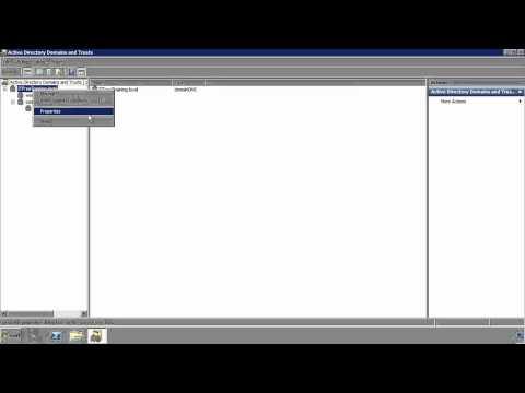 MCITP 70-640: Active Directory Trusts