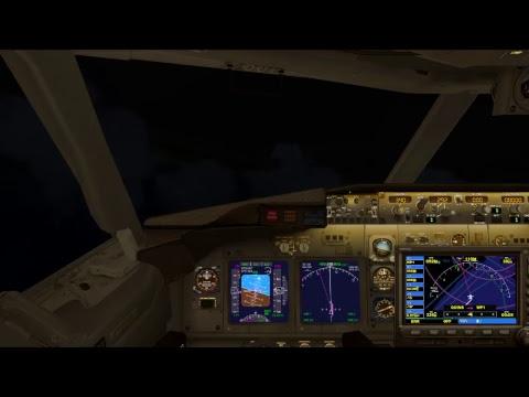 Flight Simulator (FSX): Kuala Lumpa to Perth (Malaysia to Australia)