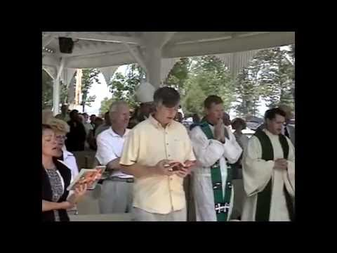 Bishop Cunningham at St  Anne's Shrine  June, 2005