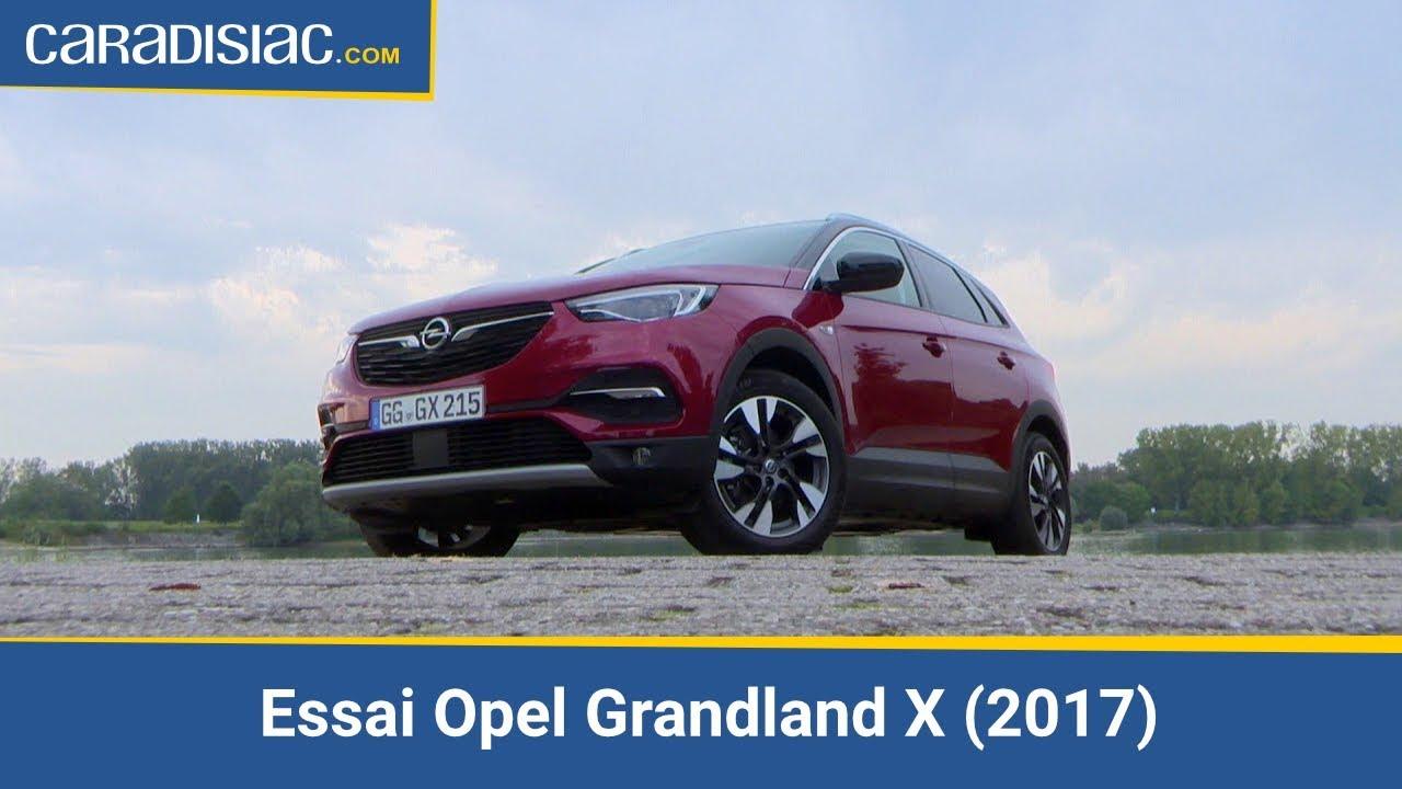 essai opel grandland x 2017 cousin germain youtube. Black Bedroom Furniture Sets. Home Design Ideas