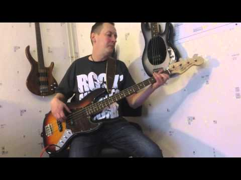 Skunk Anansie - Hedonism (Bass Cover)