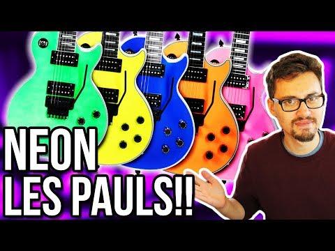 Neon Les Paul Customs, Dean Guitar Demos & Favorite Album of 2017?? || #ASKgufish