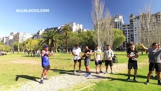 Fun and games with the All Blacks