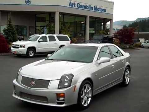 2007 Cadillac CTS-V Silver Enumclaw, Seattle, Puyallup, Tacoma ...
