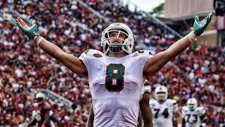 "Braxton Berrios Miami 2017 Season Highlights ᴴᴰ || ""Welcome to New England"""