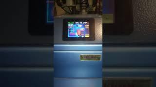 Test z analizą spalin sv200 25, ekomiał, ok 4-5kW ponizej mocy max.