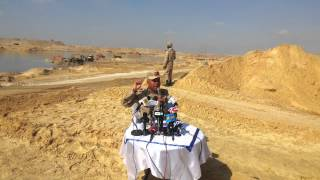 Maj. Gen. full minister announces the completion of the drilling of 189 million cubic meters