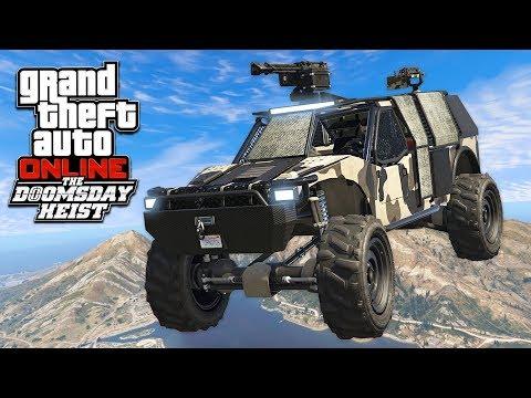 gta online new vehicles doomsday