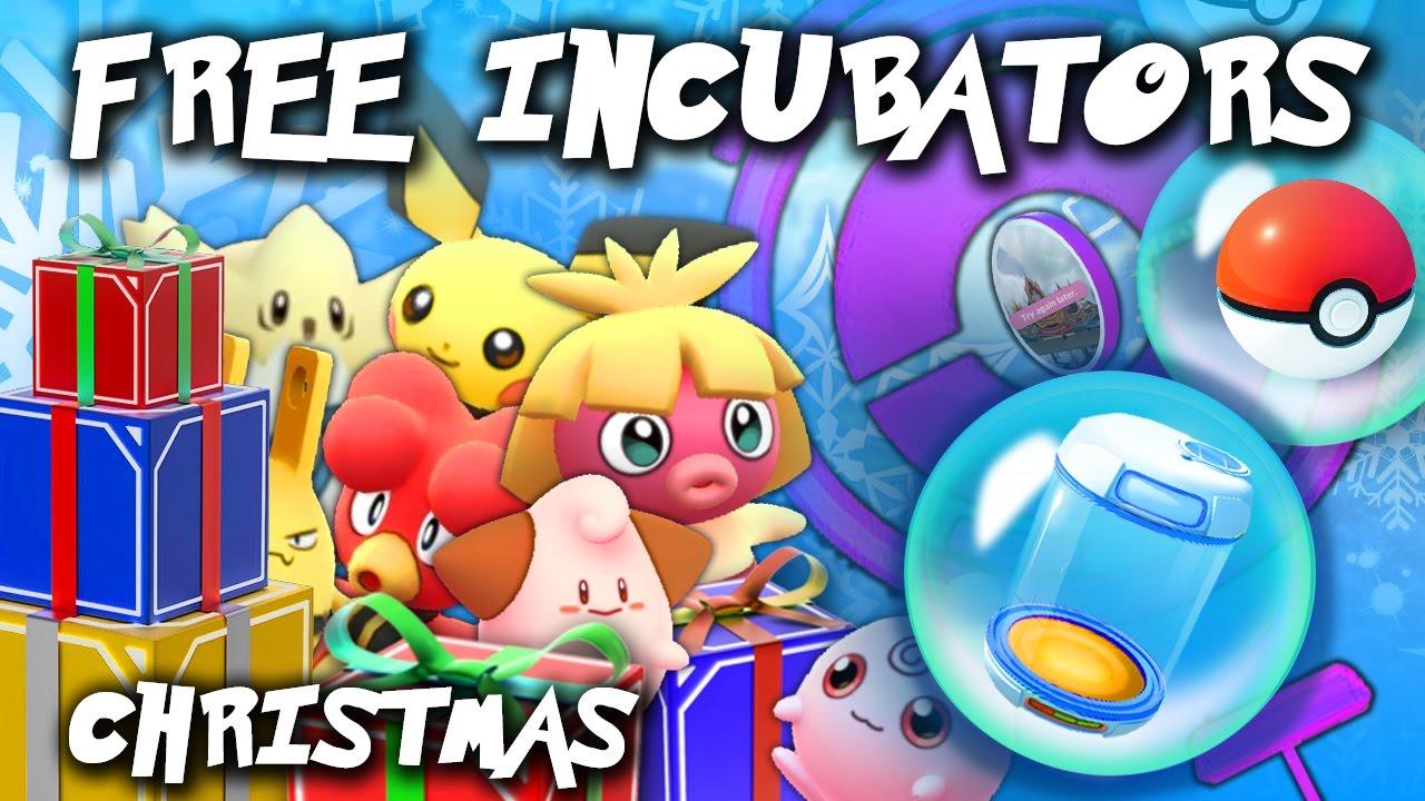free daily incubators increased baby pokmon pokmon go christmas event