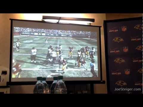 Ravens Vonta Leach Battles Redskins