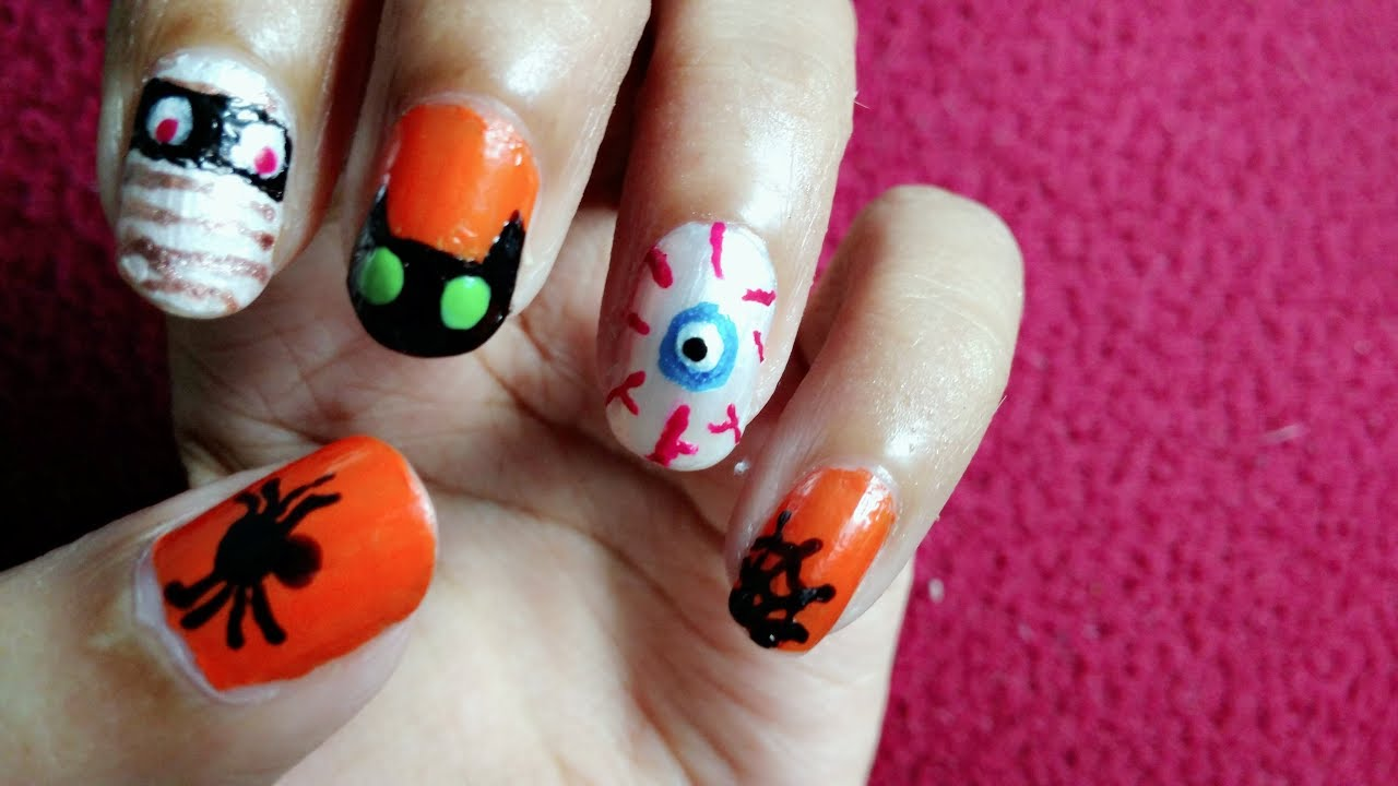 Nail Art Videos For Short Nails Without Tools – Papillon Day Spa