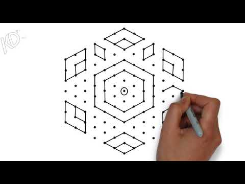 latest easy  rangoli designs with 13 dots || simple pongal kolam || Sankranthi muggulu designs