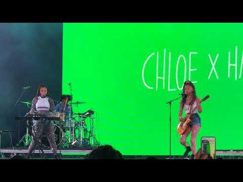 Chloe x Halle - Fake - live at Coachella 2018 - Weekend 1