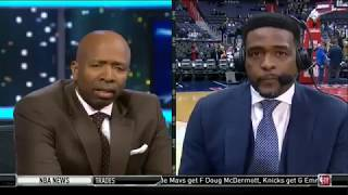 Kenny Smith & C.Webb React To Cavs Crazy Trade Deadline