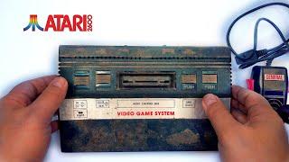 I Restored This $1 Br๐ken Atari 2600 Console - 36 Years Old - Retro Atari Console Restoration