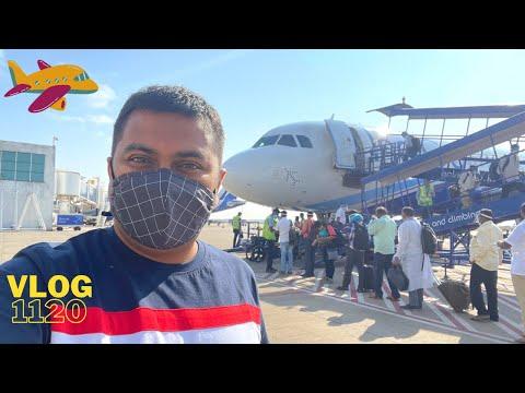 EP #3 – ഗോവയിലേക്ക് ഒരു വിമാന യാത്ര, Flying to Goa from Coimbatore via Bangalore