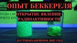 Опыт Беккереля - открытие радиоактивности