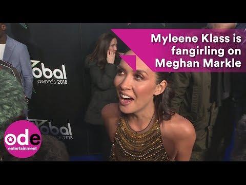 Myleene Klass is fangirling on Meghan Markle