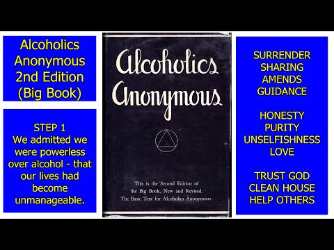 Alcoholics Anonymous - 2nd Edition (Big Book)