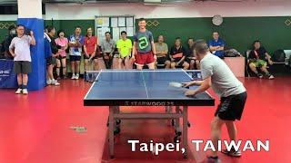 Amazing Table Tennis Player