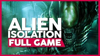 Alien: Isolation | Full Gameplay/Playthrough | PS4 Pro | No Commentary