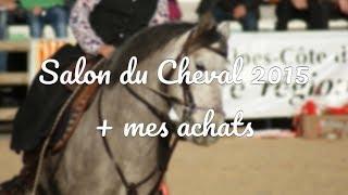 Video SALON DU CHEVAL 2015 + MES ACHATS 🛍 download MP3, 3GP, MP4, WEBM, AVI, FLV Oktober 2018