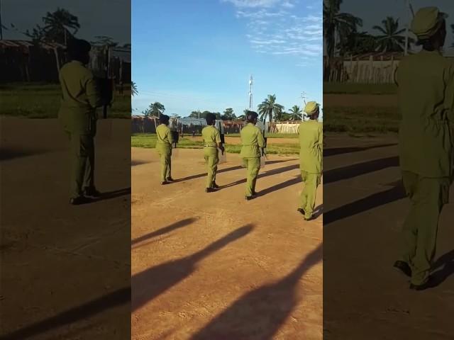 Mazoezi Polisi Kaliua(3)