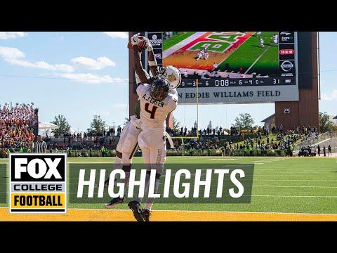 Oklahoma State vs. Baylor | FOX COLLEGE FOOTBALL HIGHLIGHTS