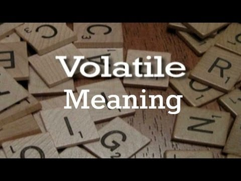 Volatility Meaning
